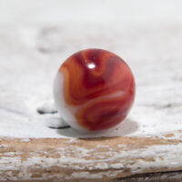 Unknown Bacon Striped Swirl Snake Marble #99