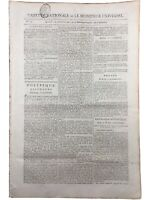 Bonaparte Campagne d'Egypte 1798 Brignoles Var Lucerne Suisse Arau Gazette