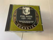 Waters Ethel - CHRONOLOGICAL CLASSICS 1929 - 1931 CD