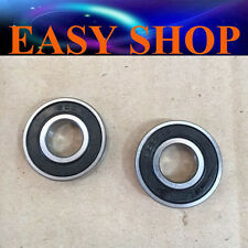 2X 6001RS 12mm x 28mm x 8mm Rubber Sealed Ball Bearing Wheel Rim Dirt Bike Stub