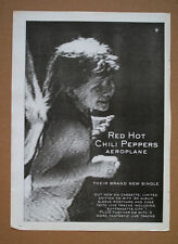 Red Hot Chili Peppers - Aeroplane  1996 music memorabilia advert 16 x 12 poster