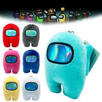 12 Colors Among Us Plush Soft Stuffed Toys Doll Game Figure Plushie Kids Toy UK