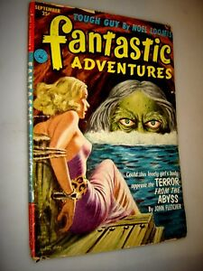 Fantastic Adventures September 1952 Issue Volume 14 Number 9 Pulp Magazine gga