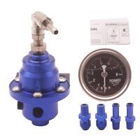BLUE Adjustable Fuel Pressure Regulator TYPE S *Rising Rate Turbo V8 Reg Track*