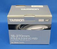 Tamron 18-270mm F3.5-6.3 Di II VC (ModelB008TS) For Nikon Japan Domestic Version