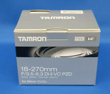 Tamron 18-270mm F3.5-6.3 Di II VC PZD (Model B008TS) For Nikon Lens Japan New