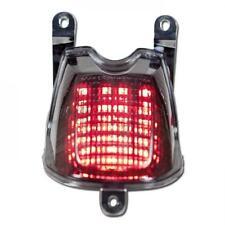 Yamaha mt03 mt-03 año de fabricación 2006-13 LED-luz trasera tintadas e-Revisado