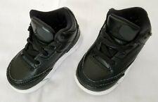 Toddlers Sz 5C Black White Nike Air Jordan 3 Retro BT Shoes 832033-020 preowned