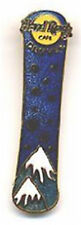 Hard Rock Cafe DENVER 1998 SNOWBOARD w/ Snowflakes PIN Clasp - HRC Catalog #2282
