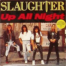 """SLAUGHTER 'UP ALL NIGHT' UK PICTURE SLEEVE 7"""" SINGLE"""