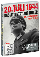 20.Juli 1944 - Das Attentat auf Hitler (DVD)(DDR TV-Archiv) Dokumentation