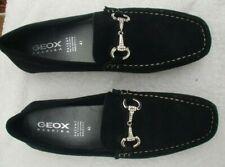 Schuhe - Geox Respira Gr. 41 Wildleder schwarz - Mokkasin  - Neuware