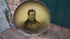 1914  Large Ridgways Pottery Portrait Plate King Albert of Belgium