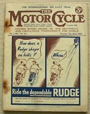 The MOTOR CYCLE Magazine 22 Jul 1937 International Six Days Trial Report