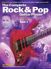Learn How To Play Electric Rock Pop Guitar Easy Beginners Tutor Music Book 3 +CD
