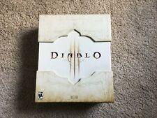 Diablo III 3 Edición Coleccionista-Excelente Estado, Completo (PC, 2012)