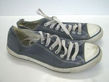 CONVERSE All-Stars BLUE DENIM CANVAS Lo-Top SNEAKERS SHOES US M-9, W-11, UK-9