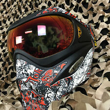 NEW V-Force Grill (Thermal HDR Lens) Paintball Face Mask Goggle - Joker Red