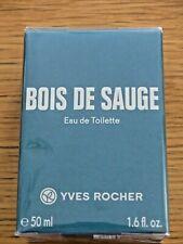 * Yves ROCHER * Bois de sauge * Eau de toilette HOMME 50 ml * 100% NEUF cello *