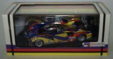 Voitures de courses miniatures multicolores en résine Peugeot