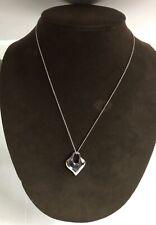 Robert Lee Morris is RLM Sterling Silver Heart Necklace