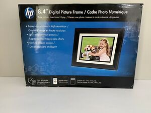 "NEW IN BOX HP 8.4"" SLEEK DIGITAL PICTURE FRAME"