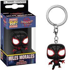 Funko pop key chain miles morales spider-man llavero figura figure spiderman
