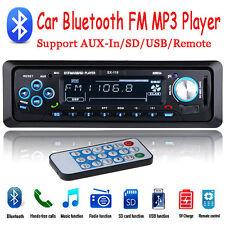 Bluetooth Car Fm Radio Stereo Mp3 Player Handsfree Usd/Tf/Remote 1Din Head Unit