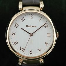Barbour BB078RSGY Women's Roker Leather Strap Wristwatch
