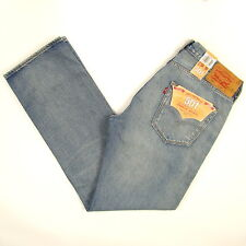 Levis 501 Jeans Original  New Mens Size 34 x 32 DARK BLUE WITH FADE Levi's NWT