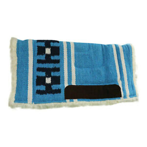 Western Saddle Pad Sioux Show Pad Teal