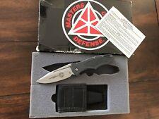 MOD Masters Of Defense James Keating Hornet Tactical folder knife, 154 CM Blade.