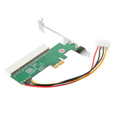 New PCI Express PCI-E to PCI Adapter Card Asmedia 1083 Chipset Green AC385