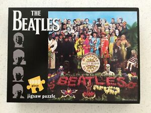 The Beatles Sgt. Peppers Lonely Hearts Club Band Jigsaw Puzzle: 1000 pieces