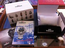 scatola contro scatola 2 libretti per orologi tissot