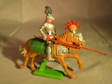 BRITAINS DEETAIL KNIGHT ON HORSEBACK WITH LANCE - 1971