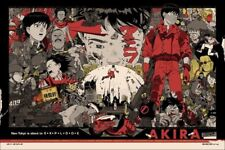Tyler Stout AKIRA VARIANT Poster Mondo Mystery Movie Edition - number 80 of 80