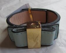 Kate Spade New York Dusty Mint Leather Bow NWD