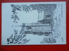 POSTCARD ESSEX THORPE-LE-SOKEN ST MICHAELS CHURCH PENCIL SKETCH