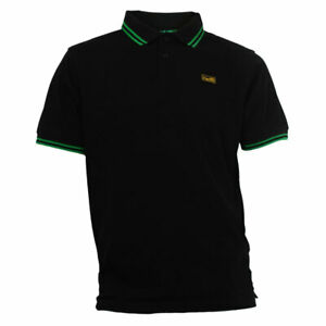 OFFICIAL NORWICH CITY FC AIRE POLO BLACK/GREEN