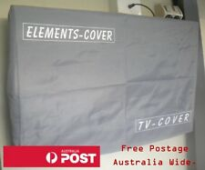 Outdoor TV Cover 26 - 28 inch Screens. 67cm wide by 46cm high.  Waterproof cover