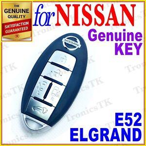 NISSAN ELGRAND SMART KEY / INTELLIGENT KEY / 5 BUTTONS - E52 SERIES