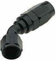 FRAGOLA 224504-BL Hose Fitting 4 AN 45 Degree Pro Flow Black