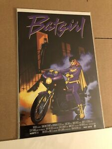 DC Comics Batgirl Issue# 40 New 52 Movie Poster Variant Prince Purple Rain