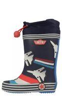 Clark Jet Power Inf Blue Combi Boys Boots UK 4G