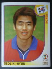 Panini Sticker 256 Seol Ki-Hyun Korea WM 2002 Korea Japan