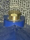 Brass Cap Plug vintage Fits  Gamewell Police Fire Alarm Call Box Telegraph