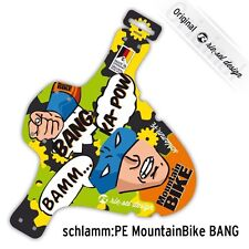 Rie:sel Front Fork Mudguard Mountain bike Fender Heroes Bat Man