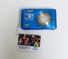 Olympus VG-140 Digital Camera - Blue - 14 Megapixel/UA4-2/12