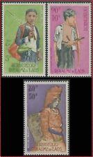 LAOS PA N°43/45* Ethnies, TB, 1965 LAOS MH